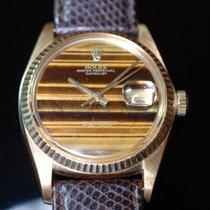 ロレックス (Rolex) Rolex Datejust 1601 Gelbgold  Plexi Tigerauge, 1975