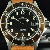 Glycine Combat Sub -200m- Automatic, Leather bracelet