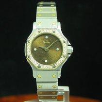 Cartier Santos Octagon 18kt Gold / Edelstahl Automatic...