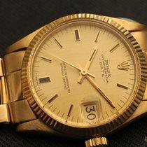Rolex date yellow gold medium boy size - oro giallo 18kt 31mm