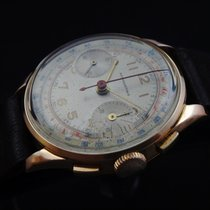 Anonymous Vintage Mechanical 18k Gold Chronograph