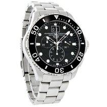 TAG Heuer Aquaracer Mens Black Swiss Chronograph Watch...