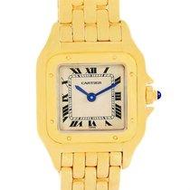 Cartier Panthere Ladies 18k Yellow Gold Ladies Watch W25022b9