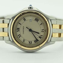Cartier Cougar 33mm Midsize 18k Gold & Steel Quartz...