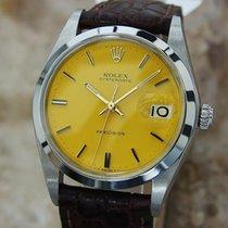 Rolex Oysterdate 1977 Precision 6694 Manual 34mm 5155641 Swiss...