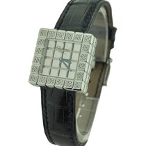 Chopard Ice Cube in White Gold with Custom Added 2 Row Diamond...