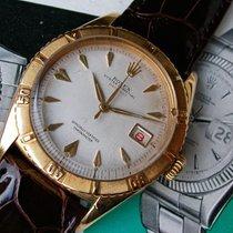 """Rolex Datejust Thunderbird Ref. 6309 in 18k Gelbgold """"red..."""