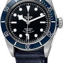 Tudor Heritage Black Bay Stainless Steel - Aged Leather