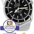Breitling SuperOcean Heritage 46 A17320 Black 46mm Mesh Stainless