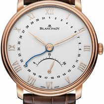 Blancpain [NEW] VILLERET ULTRA SLIM RETROGRADE 6653Q-3642-55B