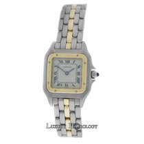Cartier Ladies Cartier Panthere 1 Row 18K Yellow Gold &...