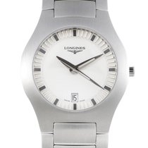 Longines Opposition Men's Stainless Steel Quart Watch...