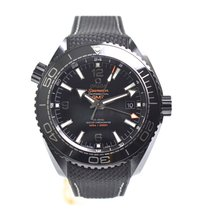 Omega Seamaster Planet Ocean Deep Black 45,5mm Neu Inkl Mwst