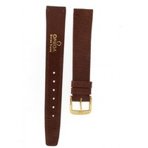 Omega A Classic Omega Brown Strap 16-14mm