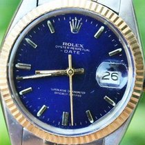Rolex 18k Gold & Steel 34mm Mens Or Ladies Date Famous...