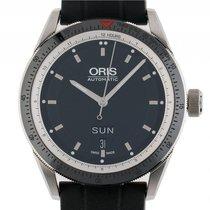Oris Artix GT Day Date Stahl Automatik Armband Kautschuk 42mm