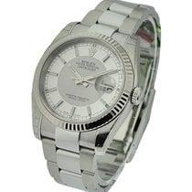Rolex Unworn 116234 Oyster Perpetual Datejust - Fluted Bezel -...