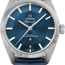 Omega Constellation Globemaster, Blue Dial