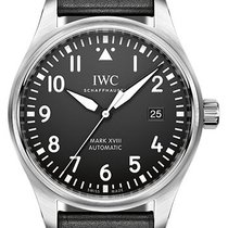 IWC Pilot's Watch Mark XVIII Stainless Steel On Strap