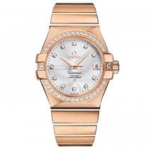 Omega Constellation  18k Rose Gold Mens watch 123.55.35.20.52.001