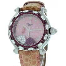 Chopard Ladies Chopard Happy Sport Diamond & Rubies...