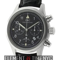 IWC Pilot Collection Pilot Chronograph Stainless Steel 36mm T...