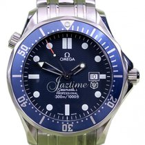 Omega Seamaster 300M 2224.80.00 28mm Blue Quartz Stainless...