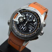 Hamilton Khaki Aviation X Copter Orange Automatic Chronograph...