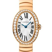 Cartier Baignoire Mini Diamond Bezel