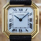 Cartier Paris Rare Mid Size Manual Wind Luxury 18k Solid Gold...