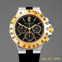 Bulgari Diagono Chronograph CH 40 SG TA Automatic BOX &...