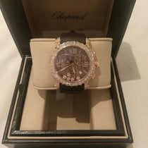 Chopard Happy Sport Round 5 Diamonds Limited  Edition