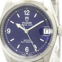 Tudor Polished  Prince Date Steel Automatic Mid Size Watch...