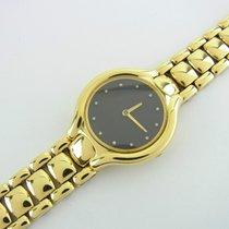 Ebel Beluga Lady Uhr Ref 866960 Damenuhr 18 Kt Gelbgold...