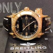 Breitling Emergency K56321 18ct Yellow Gold - Serviced By...