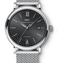 IWC Portofino Automatic 40mm Stainless Steel Bracelet Black Dial