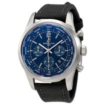 Breitling Transocean Unitime Chronograph Automatic Mens Watch...