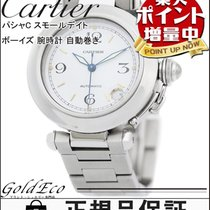 Cartier 【カルティエ】パシャC スモールデイト ボーイズ 腕時計 W31015M7 自動巻き AT シルバー...