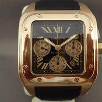 Cartier Santos 100 XL Chrono Pink Gold