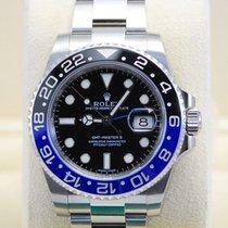 """Rolex GMT-Master II """"Batman"""" SS Blue/Black Bezel-11671..."""