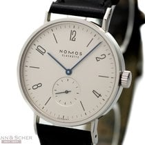 Nomos Tangomat Automatic Ref-601 Stainless Steel Box Papers...