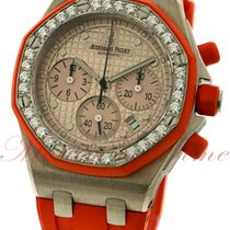 Audemars Piguet Royal Oak Offshore Ladies Chronograph, Diamond...
