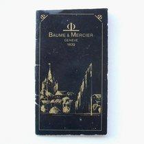 """Baume & Mercier Libretto / Booklet """"vintage"""""""
