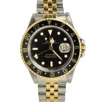 Rolex GMT-Master II / 18k Yellow Gold And Steel / Ref: 16713