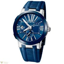 Ulysse Nardin Executive Dual Time Blue Men`s Watch