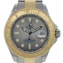 롤렉스 (Rolex) Yachtmaster 16623 Two Tone Silver Dial Mens Watch