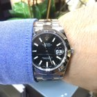 Rolex DateJust 116300 Brushed Steel Black Dial 41mm