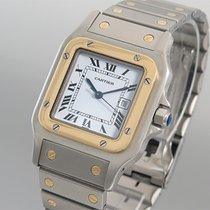 Cartier Santos de Cartier Edelstahl/Gelbgold Automatique Unisex