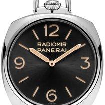 Panerai [NEW] POCKET WATCH 3 DAYS ORO BIANCO 50MM PAM 529