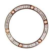 Hublot Big Bang 41mm Rose Gold Baguette Cut Diamond Custom Bezel